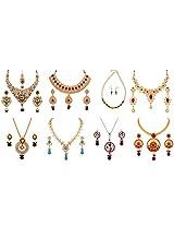 Variation Festive Season Jewellery Combo For Women