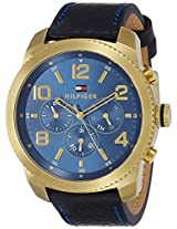 Tommy Hilfiger Chronograph Blue Dial Men's Watch - TH1791108J
