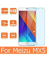 Dashmesh Shopping Anti Explosion Premium Tempered Glass , 9H Hardness, 2.5D Curved Edge, Ultra Clear, Anti-Scratch, Bubble Free, Anti-Fingerprints & Oil Stains Coating for Meizu MX5