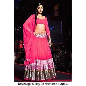 Bollywood Replica Sonam Kapoor 60 GM Georgette Lehenga In Pink Colour NC631