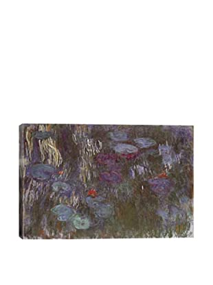 Claude Monet's Water Lilies Up Close Giclée Canvas Print