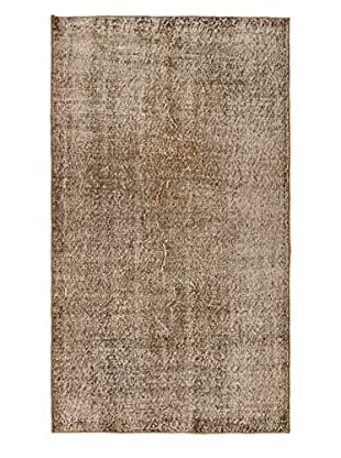 eCarpet Gallery One-of-a-Kind Hand-Knotted Anatolian Rug, Khaki/Grey, 3' 8