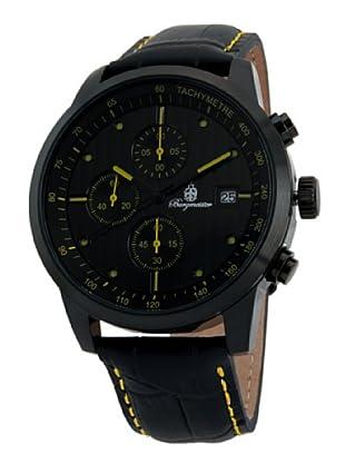 Burgmeister Herren-Armbanduhr XL Chronograph Quarz Leder BM607-620A