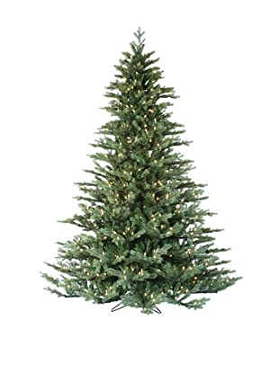 Santa's Own 9' Laurel Pine Pre-Lit Tree