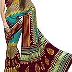 Printed Mysore Art Silk Saree With blouse piece