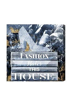 Oliver Gal Fashion Rules Canvas Art, Multi