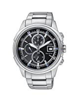 Citizen Eco-Drive Analog Black Dial Men's Watch CA0370-54E