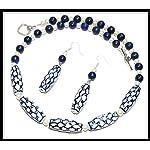[N15M_002] Blue Marvel Necklace