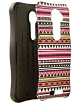 Cell Armor LG VS980I PIcardie Protective Cover - Retail Packaging - Tribal Design 3