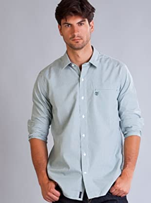 Timberland Camisa Cuadros Mini (Verde / Azul Celeste)
