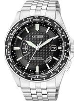 Citizen Eco Drive Analog Watch For Men Silver CB0027 51E