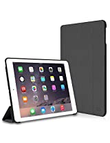 CaseCrown Omni Case (Gray) for Apple iPad Air 2 with Multi-Angle Viewing Stand (Built-in magnetic for sleep / wake feature)