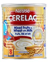 Nestle Cerelac Mixed Fruits & wheat with milk - Pack of 1, 400Gms