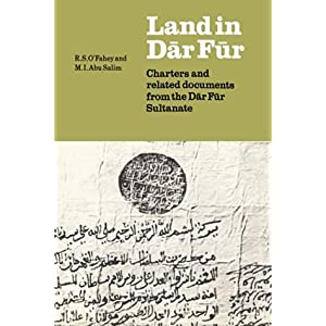 【クリックで詳細表示】Land in Dar Fur: Charters and Related Documents from the Dar Fur Sultanate (Union Academique Interantionale/International Academic Union : Fontes Historiae Africanae): M. J. Tubiana, J. Tubiana, R. S. O'Fahey, M. I. Abu Salim: 洋書
