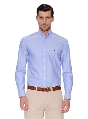 Caramelo Camisa Paul (Azul)