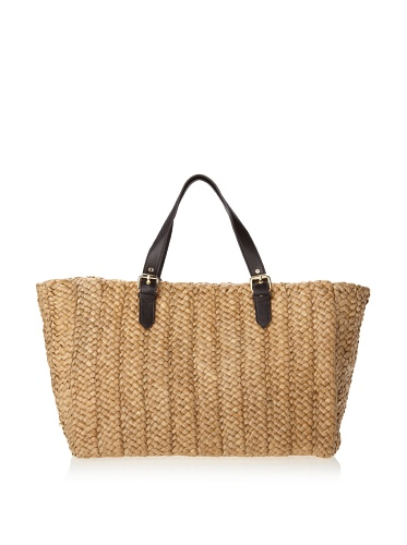 Felix Rey Women's Sardinia Basket Tote, Natural
