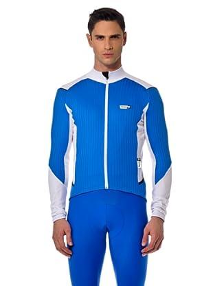 Santini Shirt Thermo (Himmelblau/Weiß)