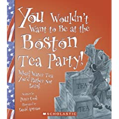 You Wouldn't Want to Be at the Boston Tea Party: Wharf Water Tea, You'd Rather Not Drink