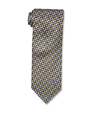 Versace Men's Illusion Tie, Gold/Silver