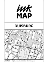 Duisburg Inkmap - maps for eReaders, sightseeing, museums, going out, hotels (English)