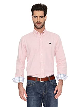 Toro Camisa Tejido Oxford (Rojo)