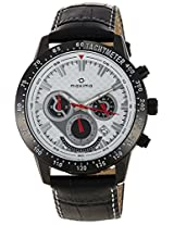 Maxima Attivo Chronograph White Dial Men's Watch - 25951LMGB