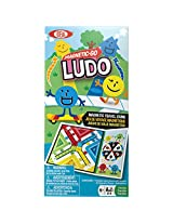 Ideal - Magnetic Go Ludo Travel Game, 8-32509TL