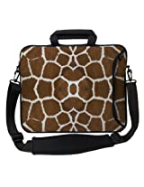 Designer Sleeves 14-Inch Giraffe Executive Laptop Bag (14ES-GIR)