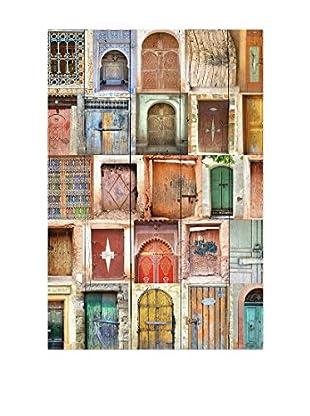 Really Nice Things Holztafel Doors Brown