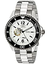 Invicta Men's 15597 Pro Diver Analog Display Japanese Automatic Silver Watch