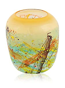 Viz Art Glass Autumn Harvest Bowl