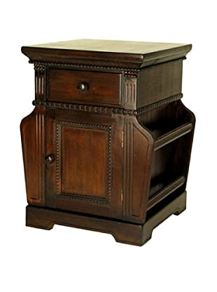 Charleston Magazine Cabinet, Brown