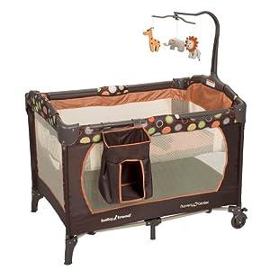 Baby Trend Nursery Center Playard, Safari Kingdom (Discontinued by Manufacturer)