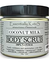 Essentially KateS Coconut Milk Body Scrub.