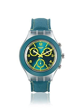 Swatch Men's SVCK4070 Green Canvas Watch