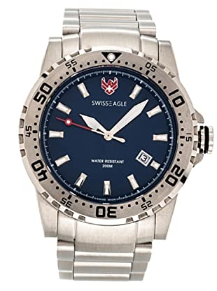 Swiss Eagle Reloj Dive Fleet azul