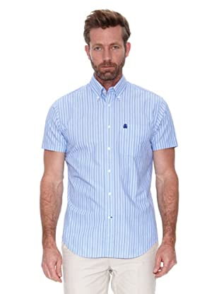 Cortefiel Camisa Mc Awati Raya (Azul)