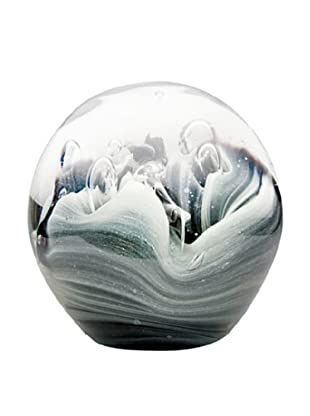 Dynasty Gallery Hand-Made Glow-in-the-Dark Glass Paperweight