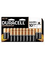 Duracell CopperTop AA Alkaline Batteries, 20 Count