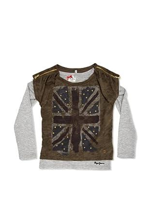 Pepe Jeans London Camiseta Beth (Caqui)