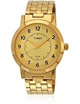 Ti000T10900 Golden Analog Watch