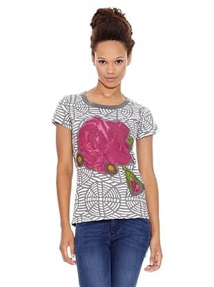 Desigual Camiseta Puerto Plata (Rosas)