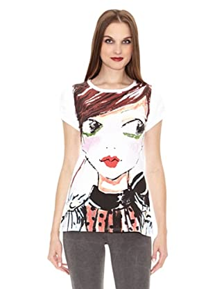 Fornarina T-Shirt Wenda Easy (Weiß)