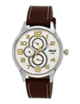 Helix Analogue Yellow Dial Men's Watch - TW003HG08