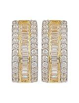 Affinity Baguette Diamond Stud Earrings
