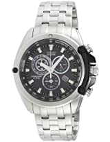 Citizen Eco-Drive Analog Black Dial Men's Watch - AT0787-55F