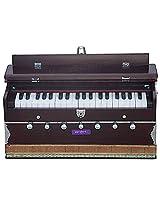 SANSKRITI MUSICALS Harmonium - A440 - 7 Stopper - Mahogany - DB