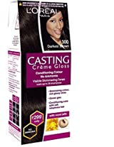 Loreal Paris Casting Creme Gloss Shade, Darkest Brown, 45g