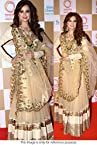 Bollywood Replica Dia Mirza Net Lehenga In Gold Colour NC696