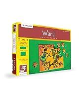 ToyKraft Warli Art Puzzle 3 in 1